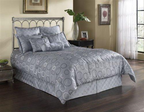 leggett & platt - home textiles Fashion Bed Group 82EQ712EVT Paramount Elevation 11-Piece Comforter and Stuffed Euro Pillow Bed Ensemble Super Pack, (Super Pack Comforter Ensemble)
