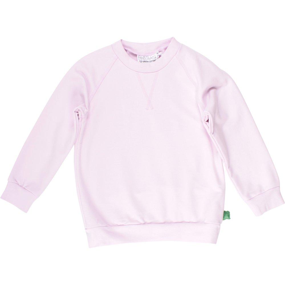 Fred's World by Green Cotton Sweat Shirt, Felpa Bambina Rosa (Rose) 140 cm 1522008100