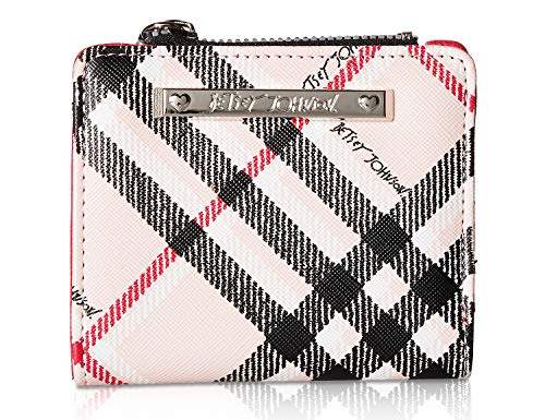 Betsey Johnson Women's New French Wallet Pink Multi One Size ()