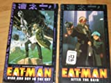 Set of 1999 EAT-MAN Videos (VHS NTSC English sub-titled) - HIGH AND DRY IN THE SKY and AFTER THE RAIN