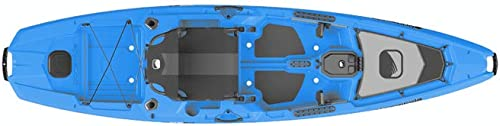 Bonafide RS117 Sit on Top Fishing Kayak Cool Hand Blue