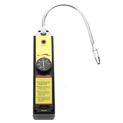SODIAL (R) de fugas de refrigerante cheque detector de fugas de halogeno
