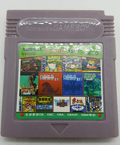 - 93 in 1 Game Boy COLOR GBC Multi Cart Tons of Classic Retro Games and many more