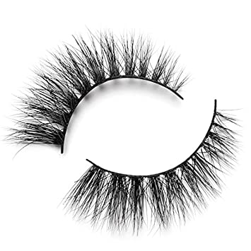 Lilly Lashes 3D Mink Doha   False Eyelashes   Dramatic Look and Feel    Reusable   Non-Magnetic   100%