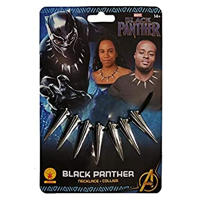 Rubie's Marvel: Black Panther Movie Teeth Necklace: Toys & Games