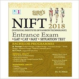 National Institute Of Fashion Technology Entrance Exam Books 2018 Gat Cat Mat Situation Test 9788172544966 Amazon Com Books
