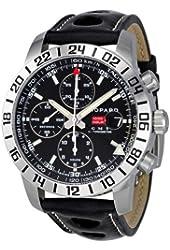 Chopard Mille Miglia GMT Steel Black Chronograph Mens Watch 168992-3001