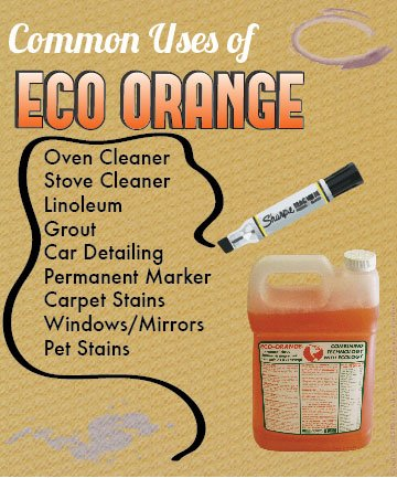 Eco Orange 1 Gallon Super Concentrate. Strongest All-Natural, All-Purpose Orange Citrus Cleaner. Makes up to 16 GALLONS after dilution. Non-Toxic, Allergy-Free, Eco-Friendly. Safe for Family, Pets. by Eco Orange (Image #5)