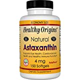 Healthy Origins Astaxanthin (AstaPure) 4 mg, 150 Softgels For Sale
