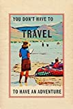 Travel in a Book Poster Print by Ramona Murdock