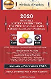 2020 Monthly Lottery Predictions for Pick 3 Cash