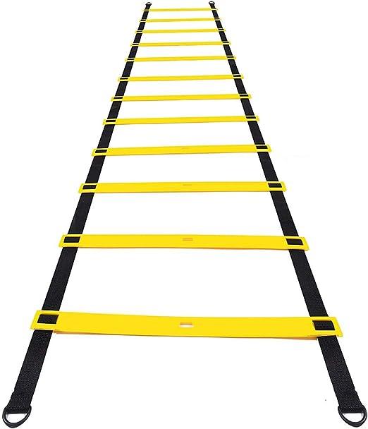 Amasawa 6m 12 Tableros Escalera de Agilidad con Bolsa para ...