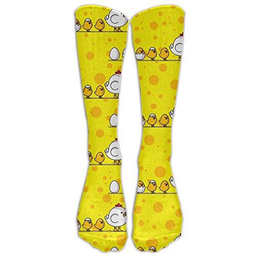 (Men's Women's How An Egg To Be A Chicken Athletic Socks Stockings Tube Socks)