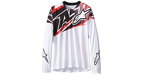 Amazon.com   Alpinestars Boy s Sight Long Sleeve Jersey   Clothing 45b4b2d16