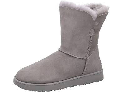 a41ee2f45f0fa7 UGG® Classic Short Cuff Damen Stiefel Grau (41 EU