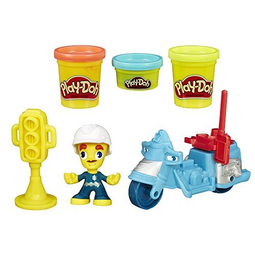 Play-Doh Town Police Motorcycle by Play-Doh