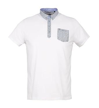Guide London Herren Poloshirt weiß weiß XX-Large Gr. XXX-Large, weiß