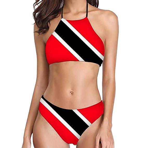 Amazon.com: Foruidea Trinidad y Tobago Bandera de dos piezas ...