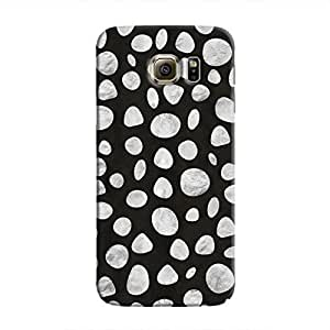 Cover It Up - Diamond Black pebbles Galaxy Note Edge Hard case