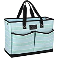 SCOUT BJ Bag, Large Multi Pocket Utility Tote for Beach and Pool, Reinforced Bottom, Water Resistant, Zips Closed, Shallow End