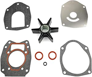 WINGOGO Water Pump Impeller Repair Kit for Mercury Mariner Force Outboards 40 45 50 60 75 80 90 100 115 120 HP & Honda Outboards 19021-ZW1-003 06192-ZW1-305 BF75 BF90 (1996-1998) 46-43026Q06 8M0100526