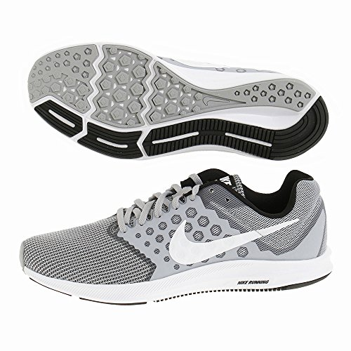 Deporte De Grey Nike Downshifter Unisex 7 Adulto Zapatillas wvUvOqIdt