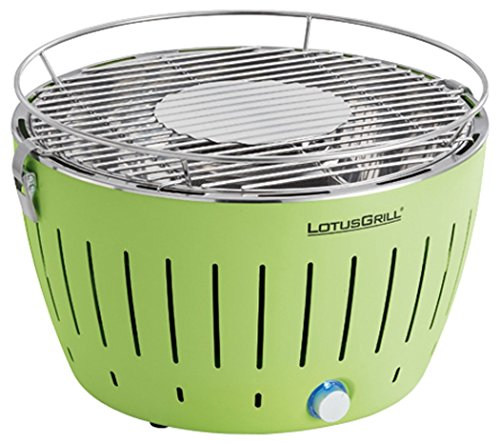 LotusGrill G-GR-34 - Barbacoa (Grill, Charcoal, 5 person(s), Kettle, Grate, Green)