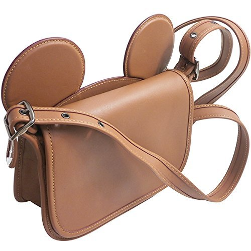 MICKEY WITH CALF NICKEL SADDLE EARS LEATHER ANTIQUE PATRICIA COACH F59369 GLOVE SADDLE IN xwqxTC0g