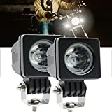 camionetas ford - Ourbest 10w Mini Square CREE auto offroad Spot light for bicycle motorcycle cars Jeep wrangler