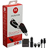 Best Bluetooth Headset For Motorolas - Motorola Boom 2+ Water Resistant & Durable Wireless Review