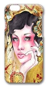 Beauty portrait 2 Custom iphone 6 plus 5.5 inch Case Cover Polycarbonate 3D