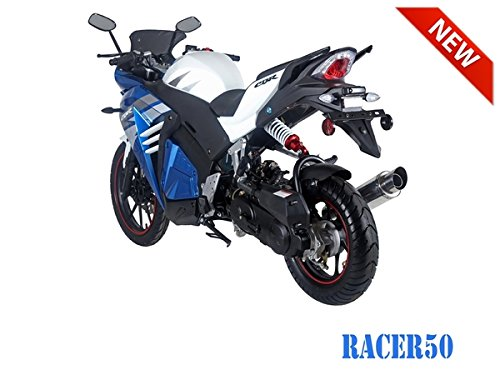 SmartDealsNow 49cc Sports Bike Racer50 Automatic Bike Racer 50 Motorcycle by TAO (Image #5)