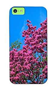 ZjdYaQr5681kjzmA Podiumjiwrp Pink Blossoms In The Tree Durable Iphone 5c Tpu Flexible Soft Case With Design