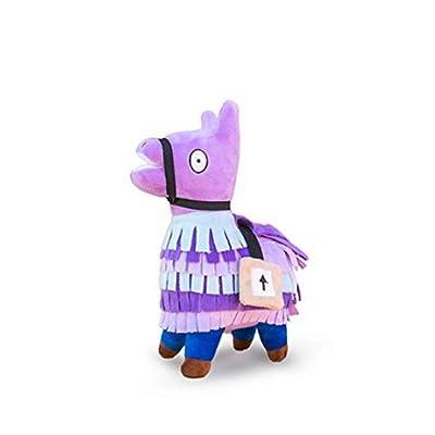 Smashing Thing Loot Llama Peluche Peluche Figura de muñeca, Troll Stash Animal Alpaca Regalo para niños Niñas Niños Niños con Llavero (pequeño): Juguetes y juegos