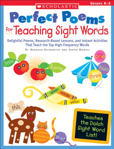 Perfect Poems for Teaching Sight Words: Delightful Poems, Research-Based Lessons, and Instant Activities That Teach the Top High-Frequency Words (Teaching Resources) (Halloween Poems For Teachers)