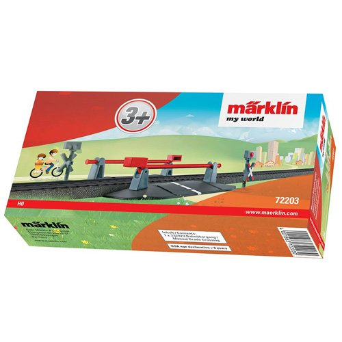 Marklin My World Manual Grade Crossing