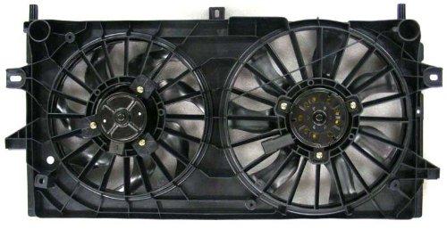 Impala Cooling Fan Motor - Depo 335-55049-000 Dual Fan Assembly