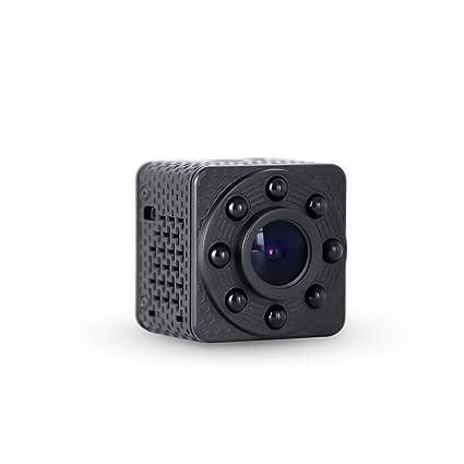 Wimaker Mini WiFi Cámara espía IP con visión Nocturna para el hogar Cámara de vigilancia de