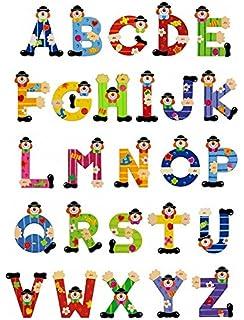 12er Pack Janod 04544 Buchstaben Clown C