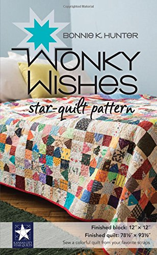 Wonky Wishes Star-Quilt Pattern ()