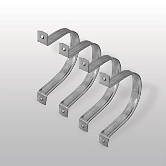 Wall Hanger 4 Metal Hose Clamp 4 Pack By Peachtree Woodworking Pw6100 Shop Vacuum And Dust Collector Accessories Amazon Com Industrial Scientific