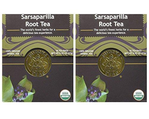 Organic Sarsaparilla Tea Caffeine GMO Free