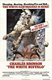 "The White Buffalo 1977 Authentic 27"" x 41"" Original Movie Poster Fine, Very Good Charles Bronson Western U.S. One Sheet"