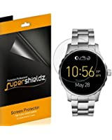 [6-Pack] Supershieldz For Fossil Q Marshal Screen Protector [Full Screen Coverage] Anti-Bubble High Definition Clear Shield -Lifetime Replacements Warranty - Retail Packaging