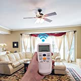 Eogifee Ceiling Fan Remote Control of Replacement