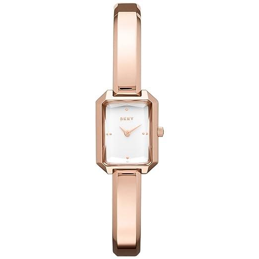 DKNY Reloj Analogico para Mujer de Cuarzo con Correa en Acero Inoxidable NY2649: Amazon.es: Relojes