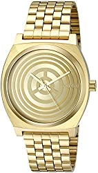 Nixon Men's 'Time Teller Chrono SW, C-3PO Gold' Quartz Stainless Steel Casual Watch (Model: A972SW-2378-00)
