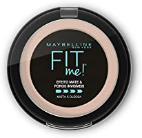 Pó compacto Maybelline Fit Me! N01 Super Claro Neutro