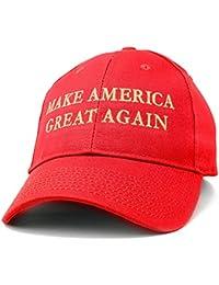 Made in USA Donald Trump Structured Cotton Cap - Make America Great Again METALLIC GOLD