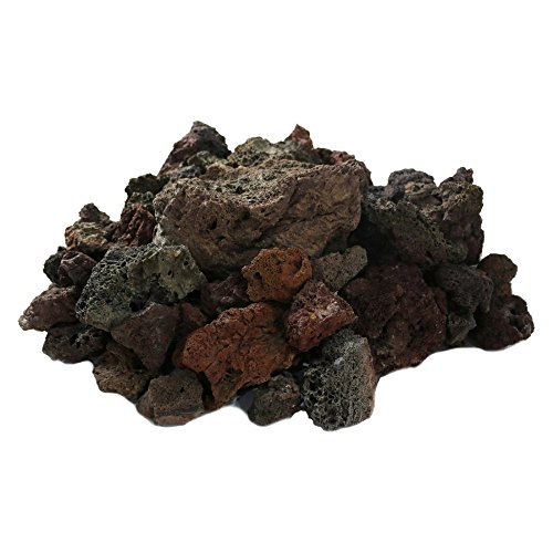 Pyromania 1/2 Cubic Foot Natural Lava Rock , SM 1 - 2 1/2 Inch